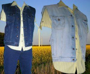 jeansweste wrangler